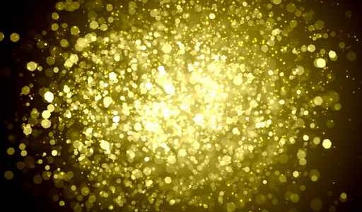 Yellow abstract light background